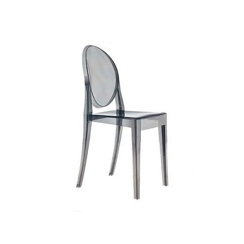 Kartell 4857P9 Chaise Victoria Ghost (Gris)