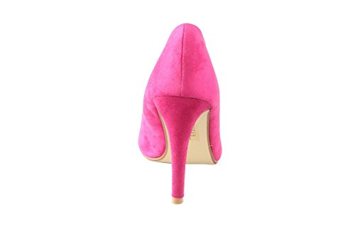 Blend Schuhe Pink Sandalen materialien Stiletto Fischkopf Damen Aalardom vqIpZ