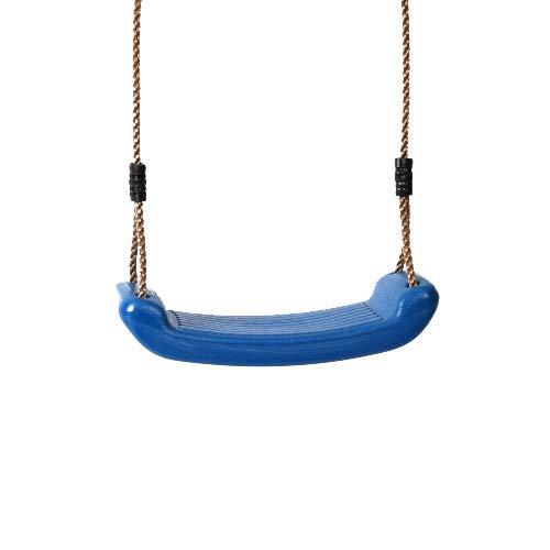 Schaukelsitz aus Kunststoff, blau