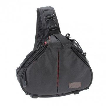 Caden Waterproof DSLR Kameratasche Messenger Tasche für Canon Nikon Sony Schwarz