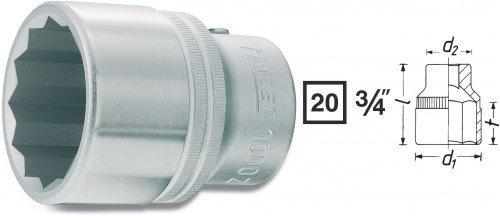 Hazet 1000Z-21 DOPPEL-6KT.-STECKSCHLUESSEL-EINSATZ