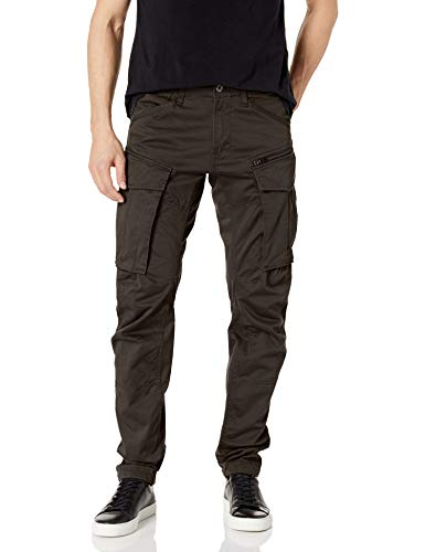 G-Star Herren Rovic Zip 3D Tapered Hose, Grau (Raven), 32/30