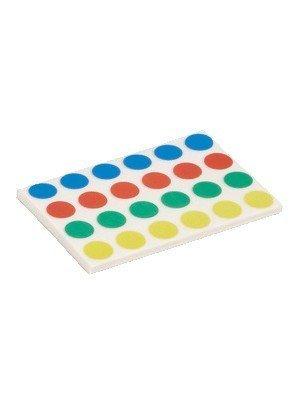 Maul Klebepunkte, 960 Stück, 4-farbig