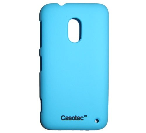 Casotec Ultra Slim Hard Shell Back Case Cover w/ Screen Protector for Nokia Lumia 620 - Ocean Blue  available at amazon for Rs.175