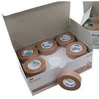 Preisvergleich für 3M Micropore Medizinisches Klebeband, hypoallergen, Tan, 1,25cm x 9,1m, 24Stück