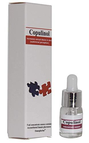 Copulinol Pheromone, Damenparfüm aus 100% Pheromone zur Steigerung der Attraktivität und Anziehungskraft auf Männer, 5 ml -
