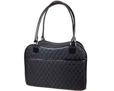 Exquisite' Handbag Fashion Pet Carrier, One Size, Black 3
