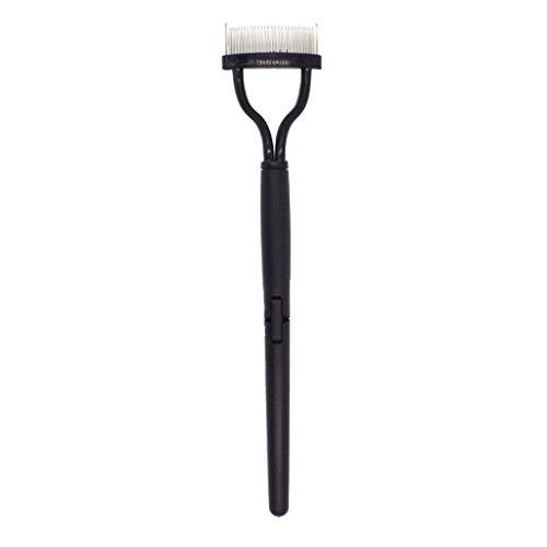 Shenye Neue Mode Falten Wimpern Kamm Lash Separator Mascara Lift Metallbürste Schönheit Make Up Tool (A)