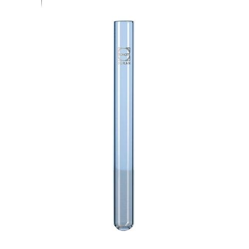 DURAN 26 132 21 Kulturröhrchen mit geradem Rand für Kapsenberg-Kappen, 16mm x 160mm, 20ml ca. Volumen, 100 Stück