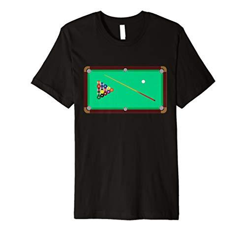 Pool Billard Tisch–Cool T Shirt
