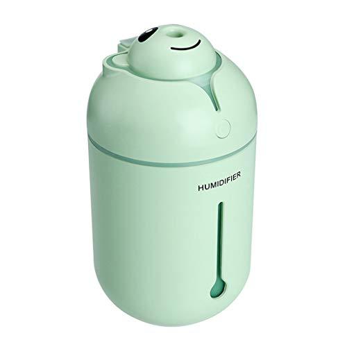 Haludock Farblicht 360 ml Luftbefeuchter Nano-Zerstäubung Nano-Zerstäubung Tragbarer Auto-Spray-Mute-Luftreiniger