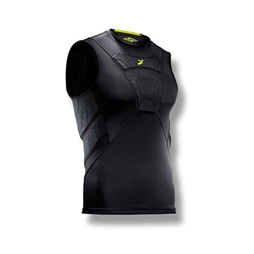06733b8ca24 Storelli Men's Sleeveless Field Player Shirt, Black, Large