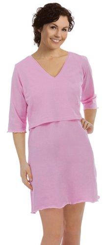 Carriwell Schlaf SARAH Still Shirt (XXL, Light Pink) -