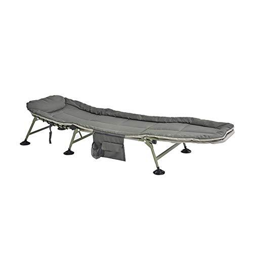 LXDDB Klappstuhl-Klappbett Verstellbarer Einzelbett-Bett-Büro-Nickerchen-Bett-Marschbett-einfacher tragbarer Mittagspausen-Stuhl -
