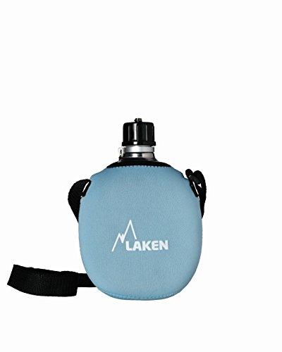 Laken Alu-Feldflasche Clasica mit Neopren Cover 121-FA