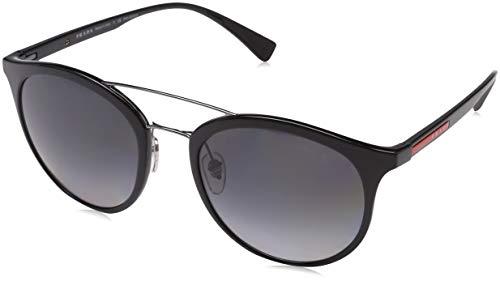 Prada Sport Herren 0ps 04rs Sonnenbrille, Schwarz (Black/Polargrey), 54