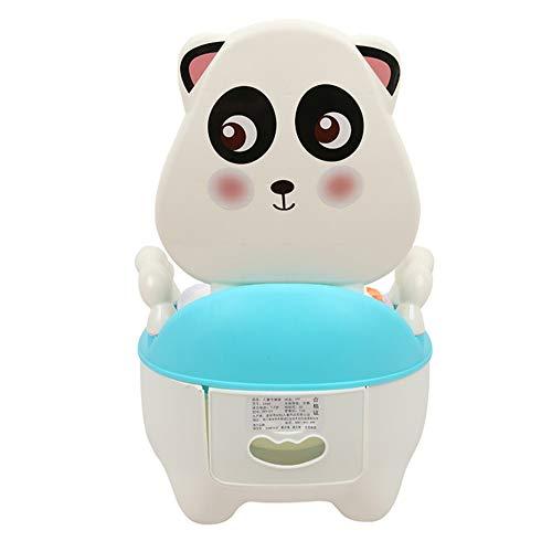 BUHWQ Vasino per Bambini Toilette da Bagno per Bambini Portatile Piccolo Gabinetto di Cartone Animato WC di Formazione Orinatoio Sgabello