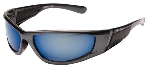 Pour Homme ou Femme Classique enveloppant Étui pour lunettes de soleil - Noir - Medium o3teH