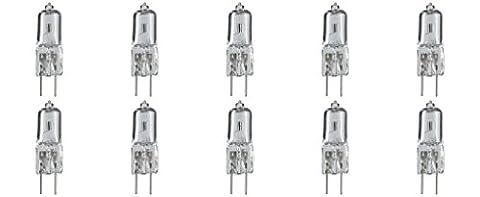 Bi-Pin Halogen Light Bulb Replacement, AC 240 Volt 35W in