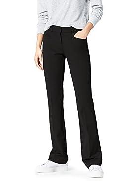 FIND Pantalón Casual de Pierna Ancha para Mujer