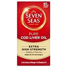 Seven Seas 10% OFF High Strenghth Pure CLO 60 capsule