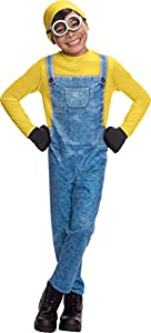 Disfraz infantil oficial de Minion Bob de la película «Gru, Mi Villano Favorito», de la marca Rubie
