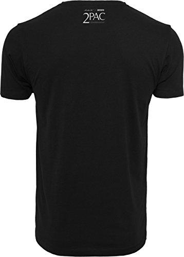Mister Tee Herren 2pac President T-Shirts black