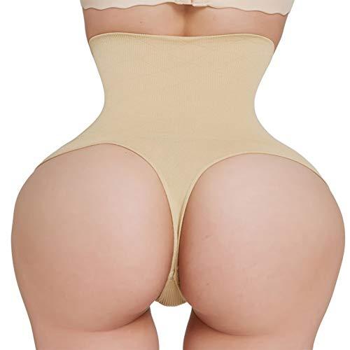 ZJSEHFSD Taillentrainer Butt Lifter Body Shaper Slimming Slips Bauchformer Slim Womens Thong Panties Corrective Underwear Control Hosen -