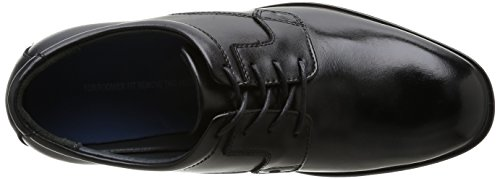 Hush Puppies - Vito - Chaussures Oxford - Homme Noir (Black)