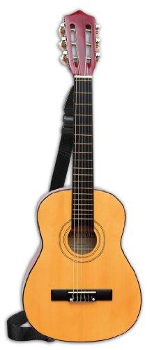 Bontempi–217520–Musikinstrument–Klassische Gitarre aus Holz–75cm