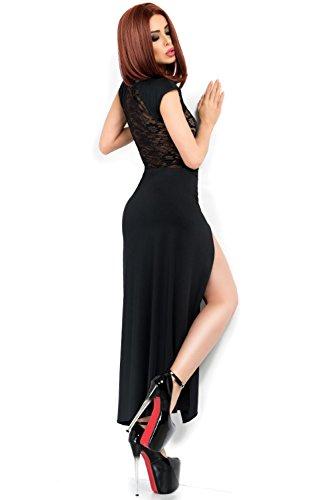 Langes Kleid von Chilirose Schwarz