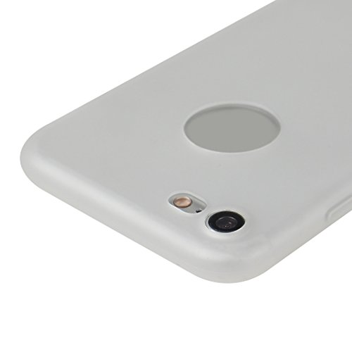 iPhone 7 Hülle Dünn Silikon, Asnlove 2 Pack Handy Schutzhülle für Apple iPhone 7 Hülle TPU Silikon Backcover Case Handytasche Einfarbig Telefon-Kasten Tasche Schutz Cover Design Rose Color-13