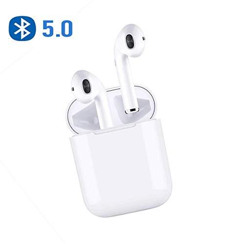 Auricolare Bluetooth, Cuffia Auricolare per la riduzione del Rumore delle Cuffie Auricolari Wireless, Cuffie HiFi con Microfono, Compatibile con iPhone X 8 8 Plus e Android Samsung