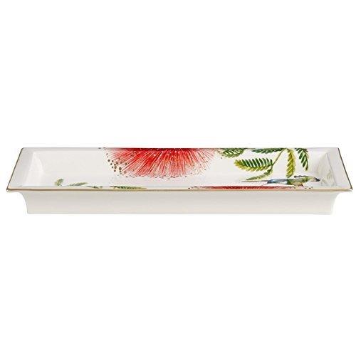 Villeroy & Boch 10-1636-3846 Coupelle Porcelaine Vert 28,9 x 14,8 x 3 cm