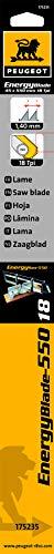 Peugeot 175235Klinge für manuelle Gehrungssäge 550mm Holz/PVC/Alu 18TPI 550mm