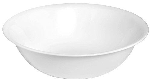 Corelle Servierschale Winter Frost White aus Vitrelle-Glas 1,9 Liter, 3er-Set, weiß