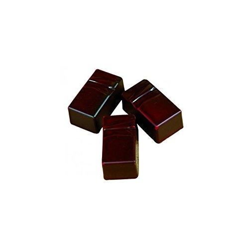 PLAQUE 3X8 PRALINE RECT.STRUCT--MT383404 -
