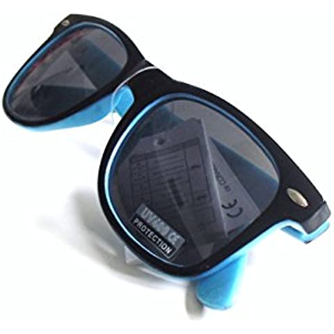 Gafas de Sol con Filtro UV400 Wayfarer VARIOS COLORES, Nuevas con Funda