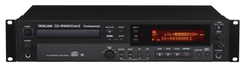 Tascam CD-RW900MK2 CD-Player, schwarz (Dj-audio-recorder)