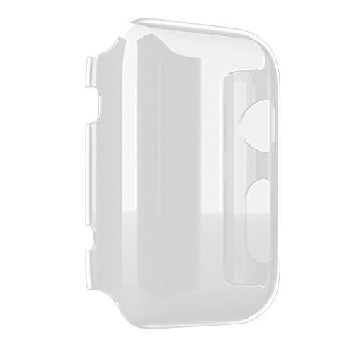vkospy 38 / 42mm Transparent Frame Case Klar Ultra dünne Harte PC Schutzhülle Ersatz für iWatch Serie 3 -