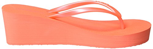 O'Neill Fw Wedge, Tongs femme Pink (Fluoro Peach)