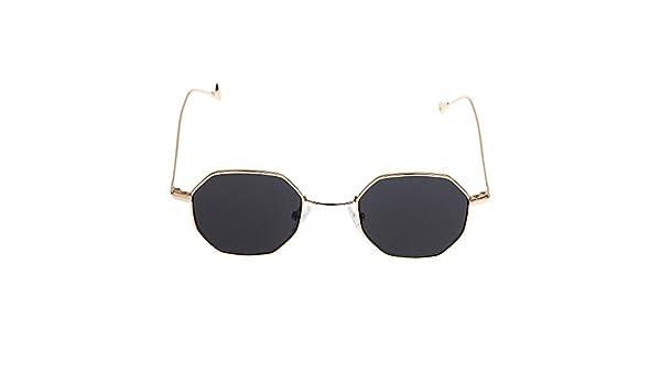Sommer vintage octagon Sonnenbrille Unisex Retro Mode Brillen UV400 Schutz