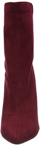 Boohoo Paige Stretch Sock, Bottes Classiques femme Red (Berry Micro)