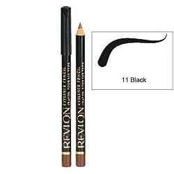 Revlon Classic Eye Liner Pencil - Black 11 (Pack of 2)