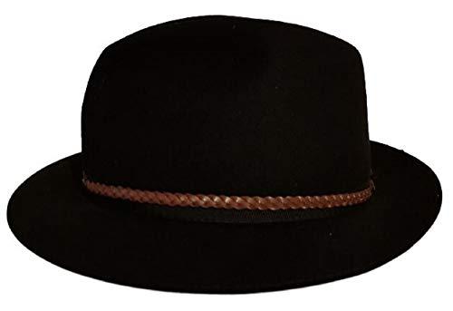 La Maga Circe Cappelli Modello Fedora Stile Borsalino Uomo Ragazzo 100% Fur  Felt Rabbit Hair 33f08937f4ab
