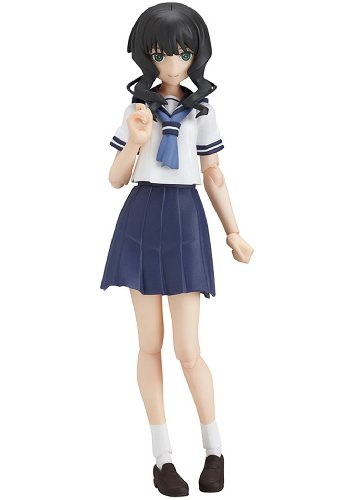 BLACK ROCK SHOOTER - Figurine Figma Yomi Takanashi School Uniform 14 cm