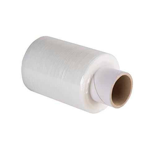 40 x Mini-Hand stretchfolie 20my (transparent) 10 cm x 150 m, Wickelfolie Handy Rollen (ohne Abroller) thumbnail