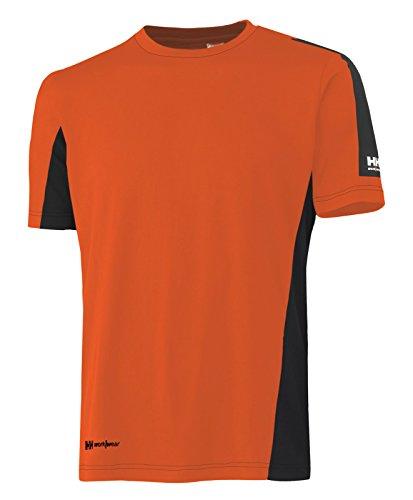 Helly Hansen Cool Kurzarm T Shirt Odense T 75061 Arbeitsshirt 259 M orange