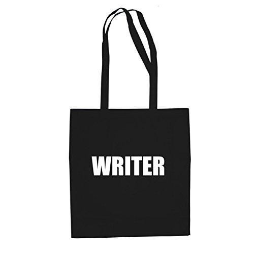 Scrittore - Borsa Di Stoffa / Borsa Nera
