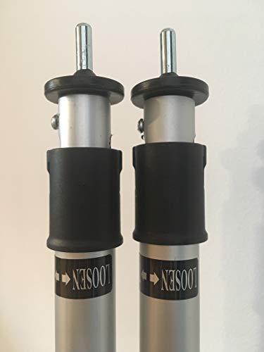 Oztrail - Kit de 2 postes extensibles hasta 195 cm para toldo...